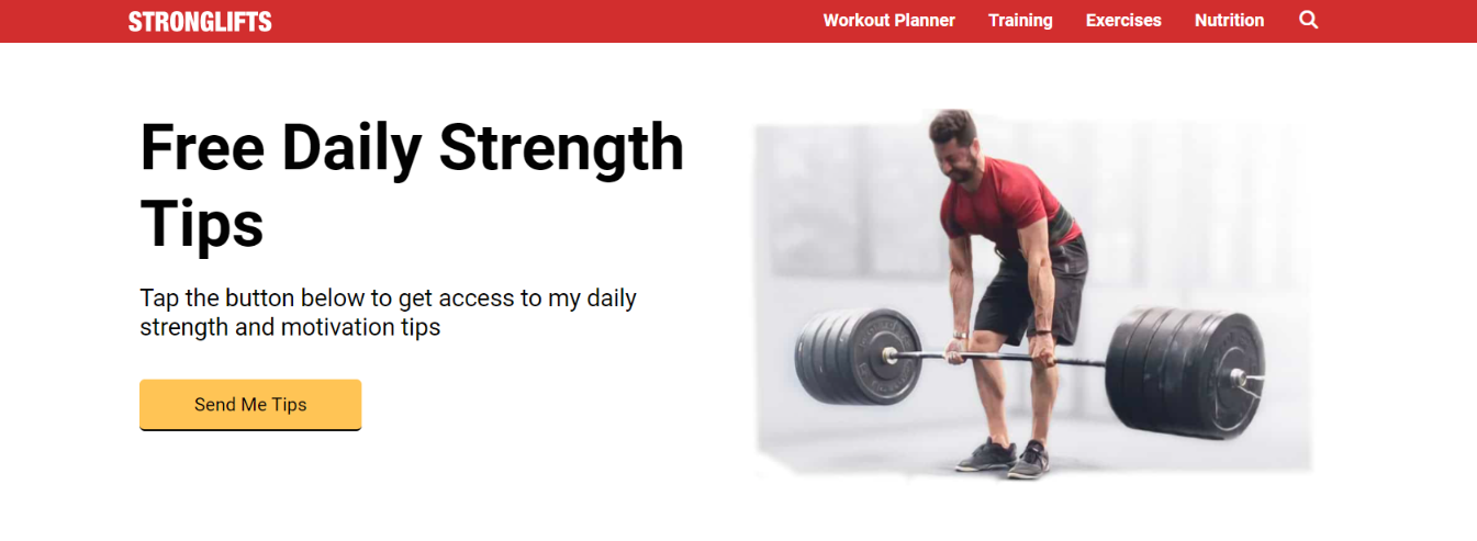 Strong lifts: Bodybuilding blog and website