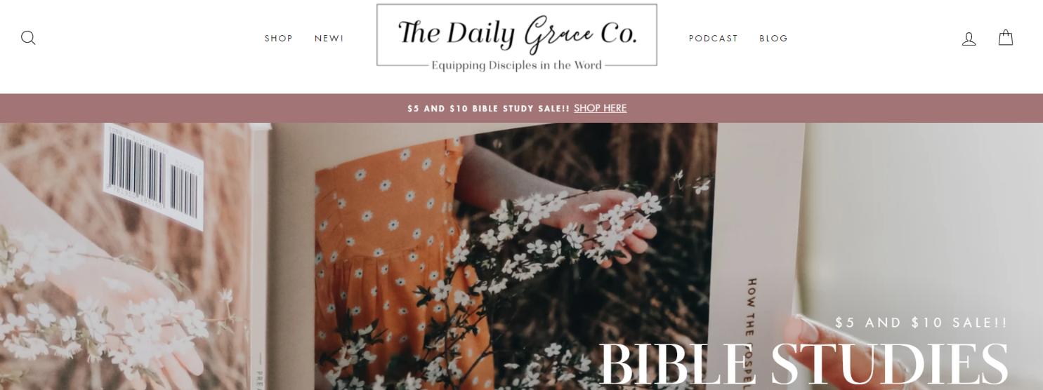 Daily grace: Christian podcast