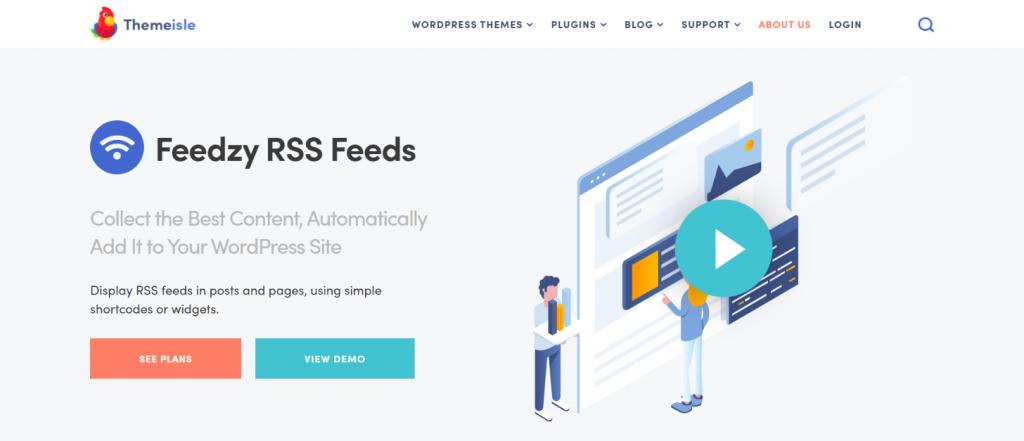 Feedzy Rss feeds: WordPress Rss feed plugin