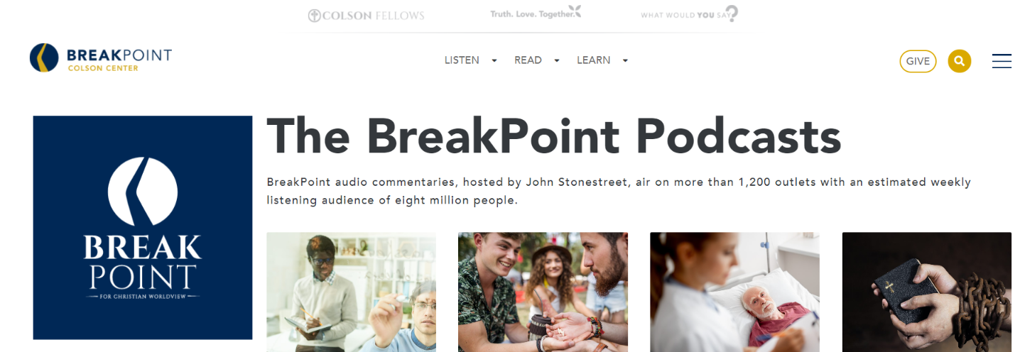 Breakpoint: Christian podcast