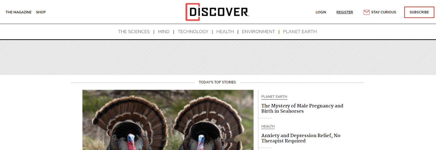 Discover magazine: Astronomy magazine and publication