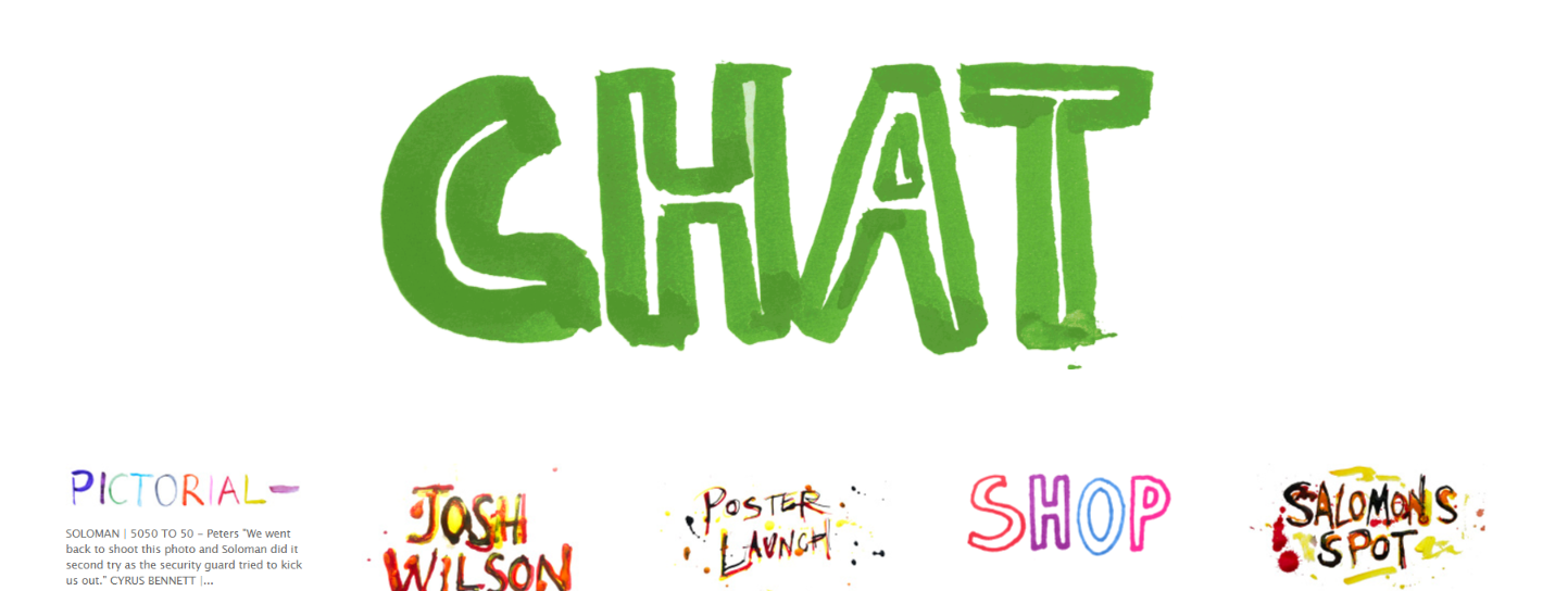 Hepas chat: Skateboard magazine and publication
