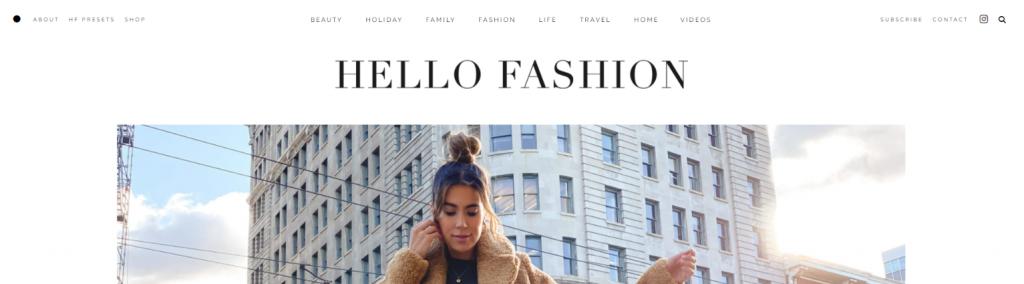 Hello fashion: Fashion blog and website