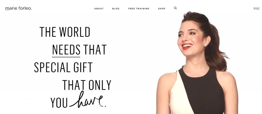 Marieforleo: Women blog and website