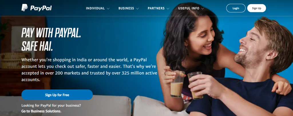 Paypal: Tool for freelancers