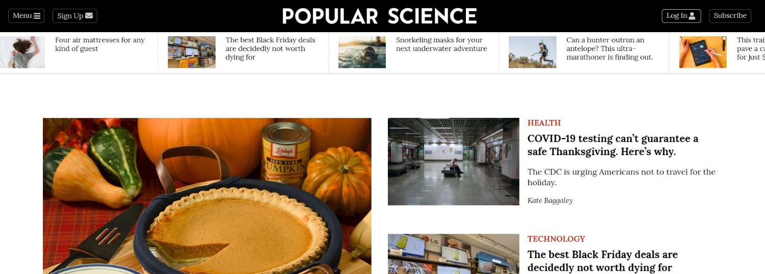 Popular science magazine: Astronomy magazine and publication