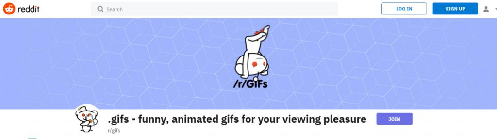 Reddit: Gif website and blog