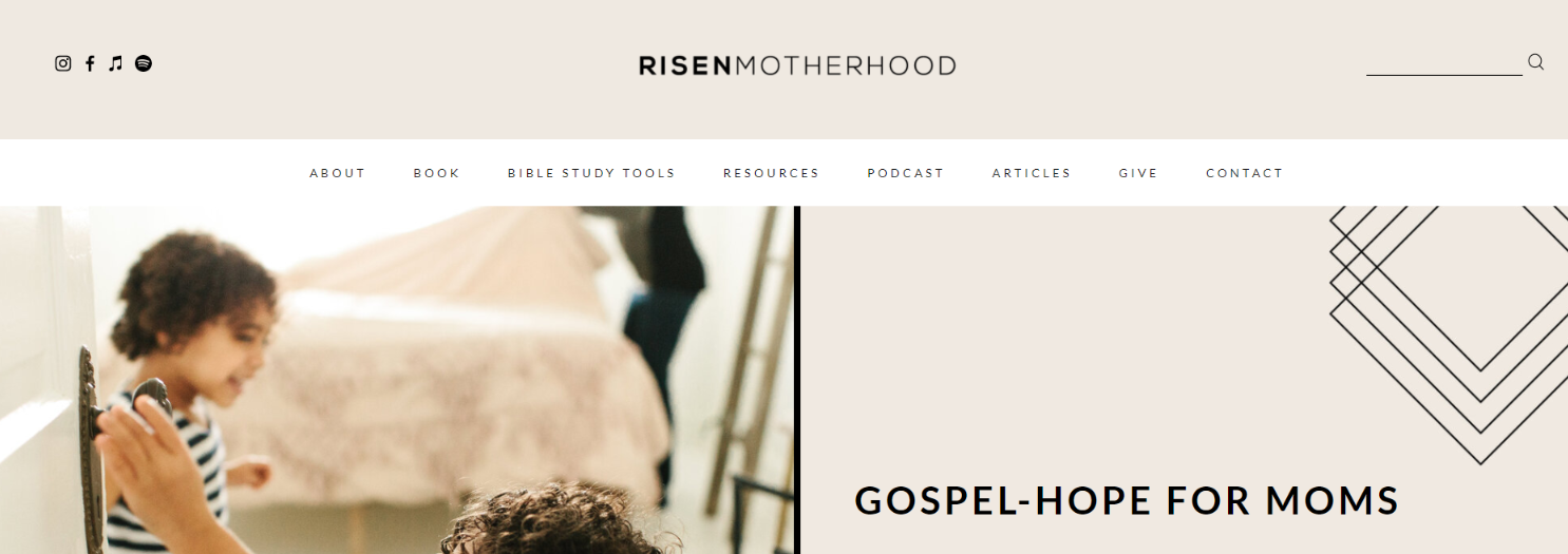 Risen motherhood: Christian podcast