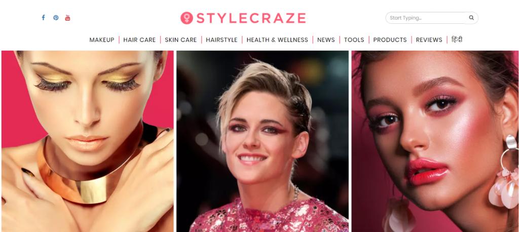 Style craze: Women blog and website
