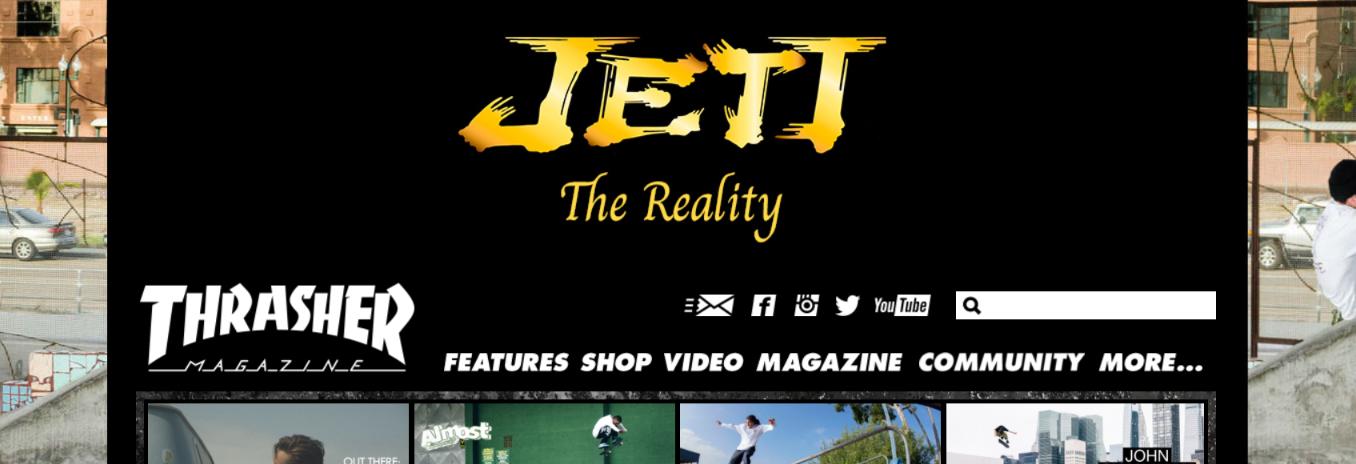 Thrasher: Skateboard magazine and publication