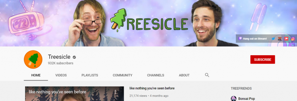 Treesicle: Funny Youtube Channel