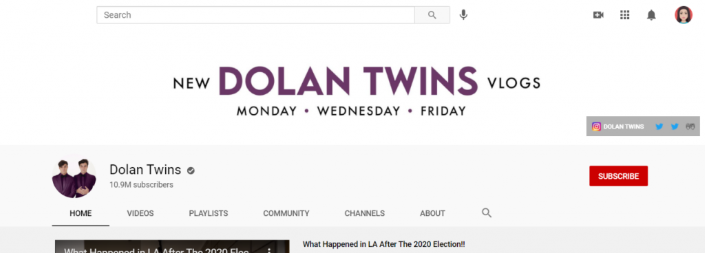 Dolan Twins: Funny Youtube Channel