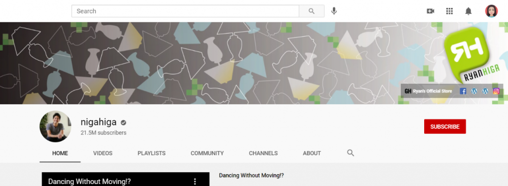 Nigahiga: Funny Youtube Channel