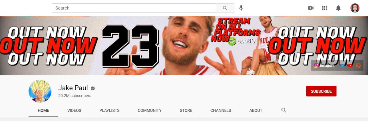 Jake paul: Funny Youtube Channel