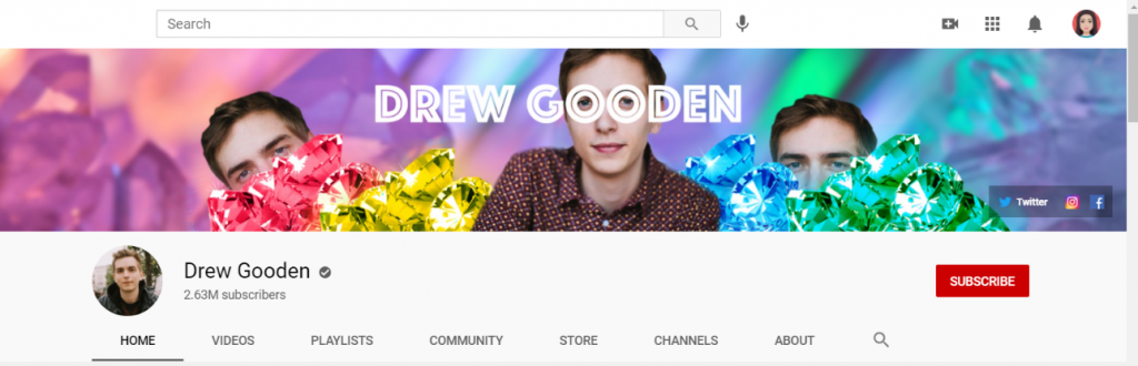 Drew Gooden: Funny Youtube Channel