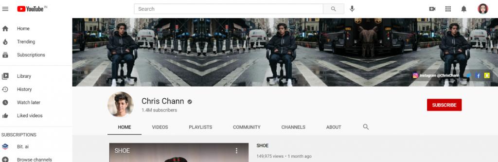 Chris chann: Prank youtube channel