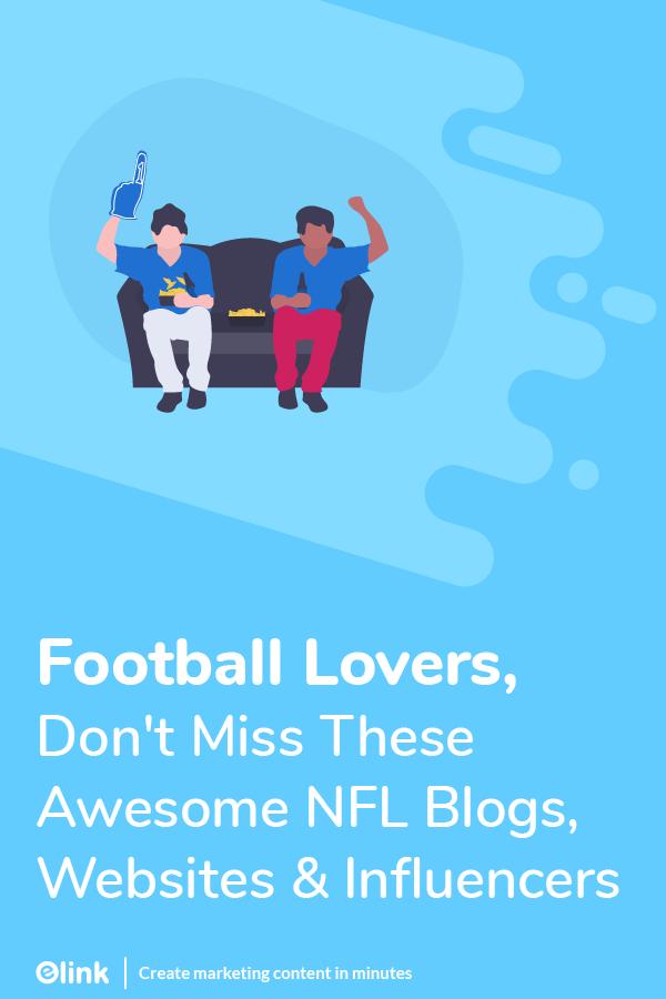 NFL blogs, websites and infuencers - pinterest