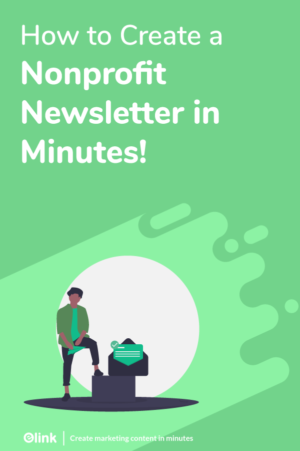 Non profit newsletter - pinterest