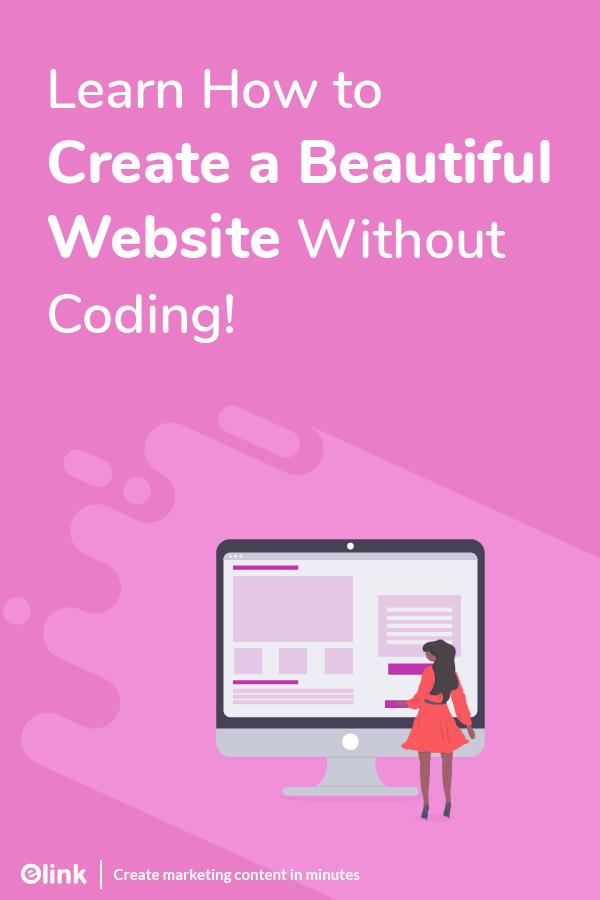 Create beautiful webpages - pinterest