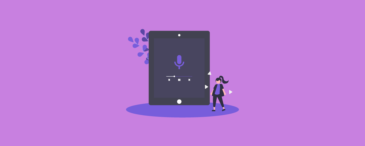 Podcasts for kids - blog banner