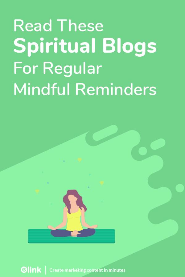 Spiritual blogs, websietes and influencers - pinterest