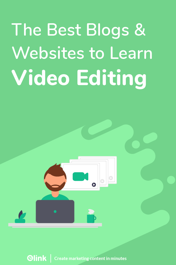 Video editing blogs and websites - pinterest