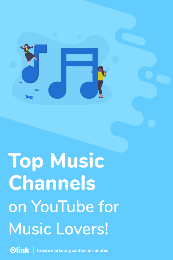 Youtube music channels - Pinterest