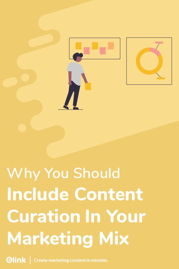 Content curation importance - Pinterest