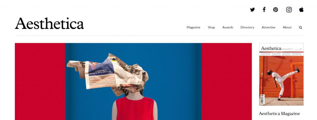 Aesthetica: Art magazine and publication