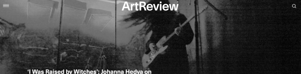 Art review: Art magazine and publication
