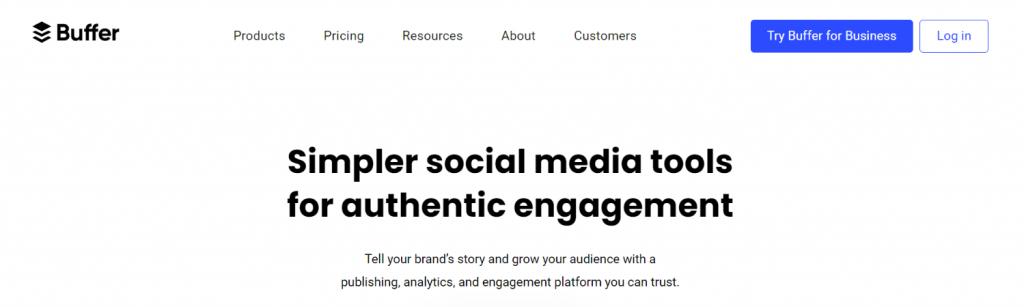 Buffer: Social Media Aggregator