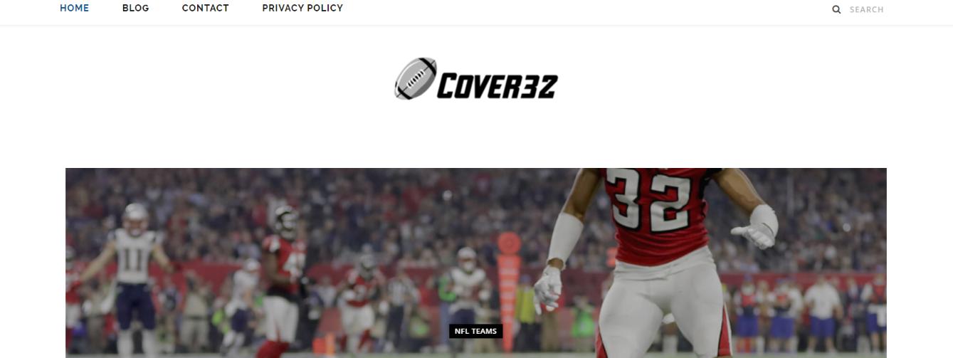 Cover 32: NFL blog, website or influencer