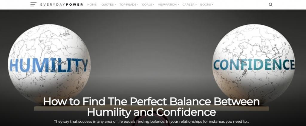 Everyday power blog: Inspirational blog and website