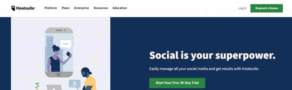 Hootsuite: Social Media Aggregator