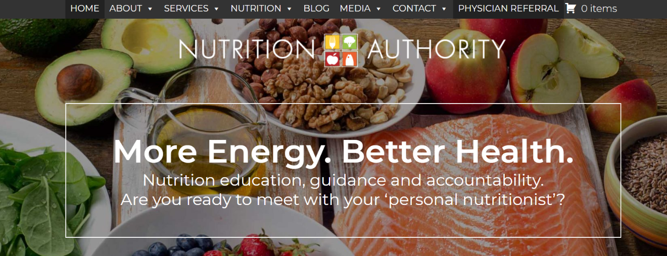 Authority nutrition: Nutrition blog and website