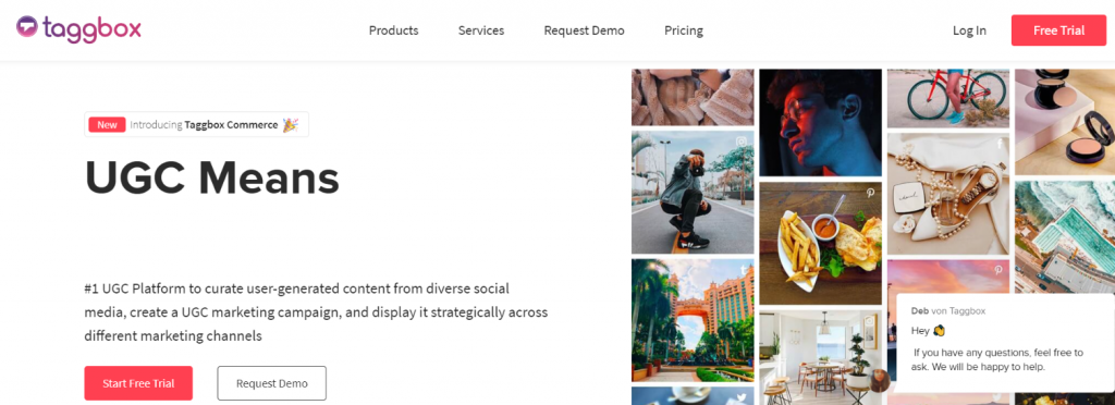 Taggbox: Social Media Aggregator
