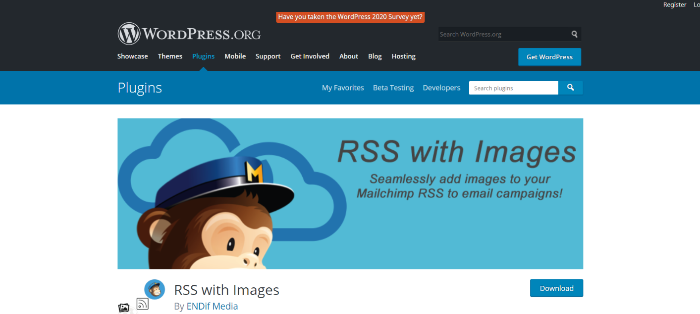 Rss with images: Rss feed widget