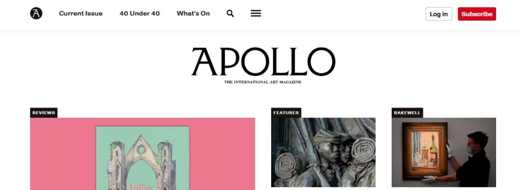 Apollo: Art magazine and publication