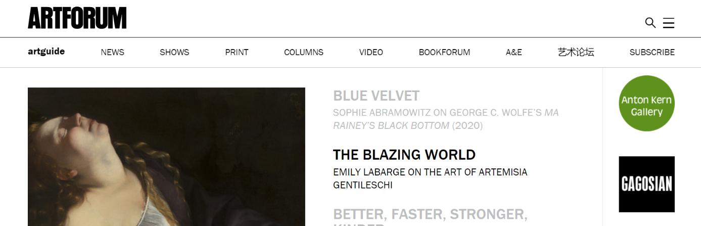Artforum: Art magazine and publication