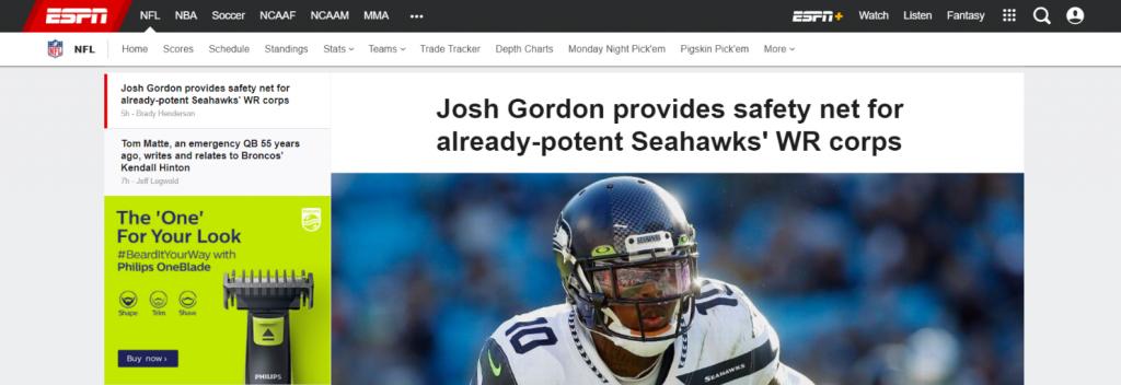NFL Nation: NFL blog, website or influencer