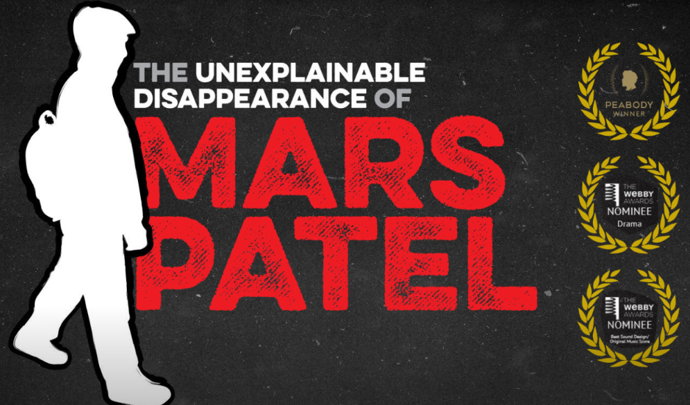 The Unexplainable Disappearance of Mars Patel: Kids Podcast