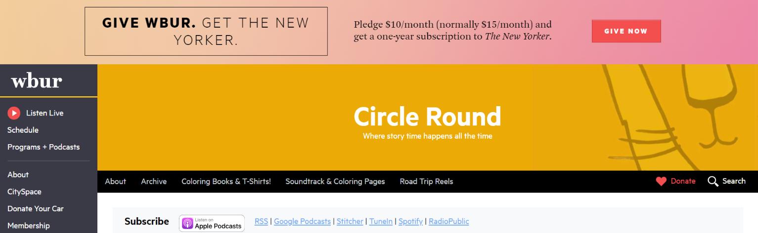 Circle round: Kids Podcast