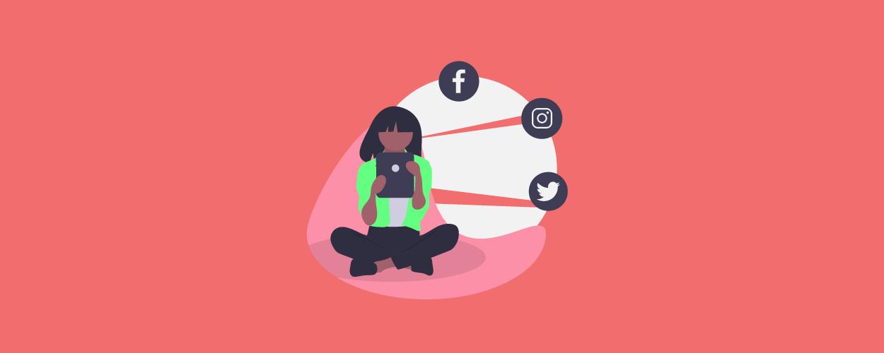 Social sharing - blog banner