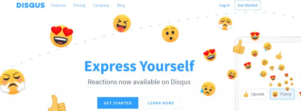 Disqus: Website widget