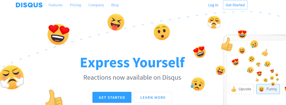 Disqus: Website widget