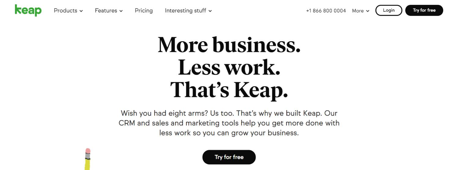 Keap: Marketing software