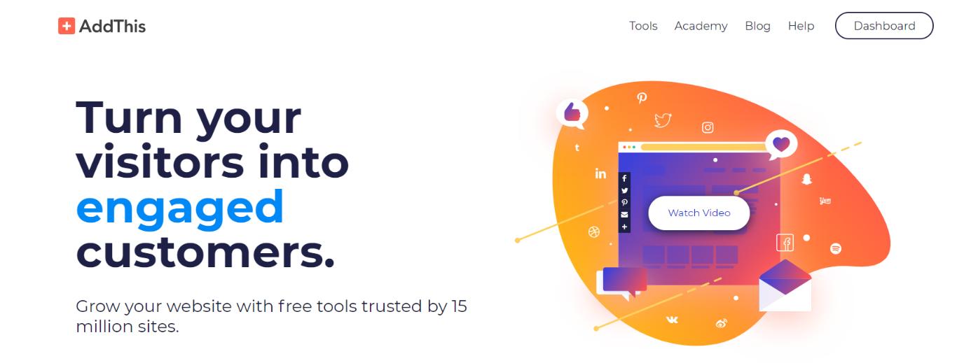 Add this: Social sharing tool