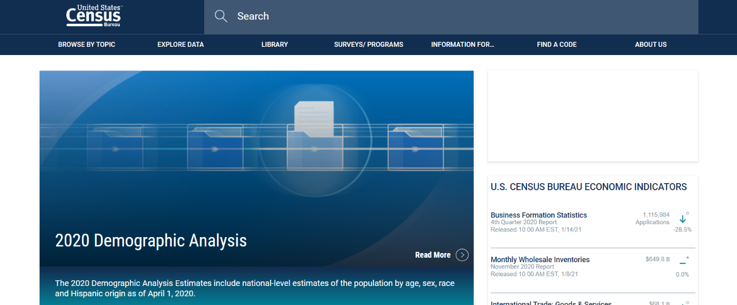 Us census business data: Tool for researchers