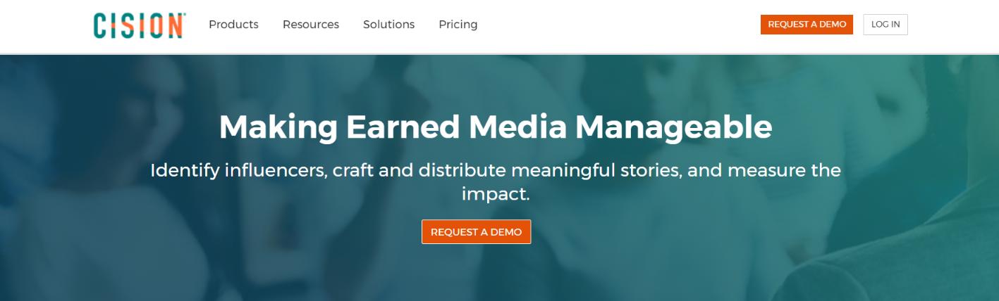 Cision: Marketing software