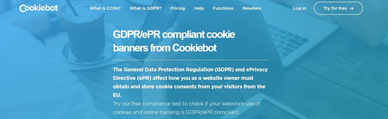 GDPR complaint cookie banner: Squarespace plugin
